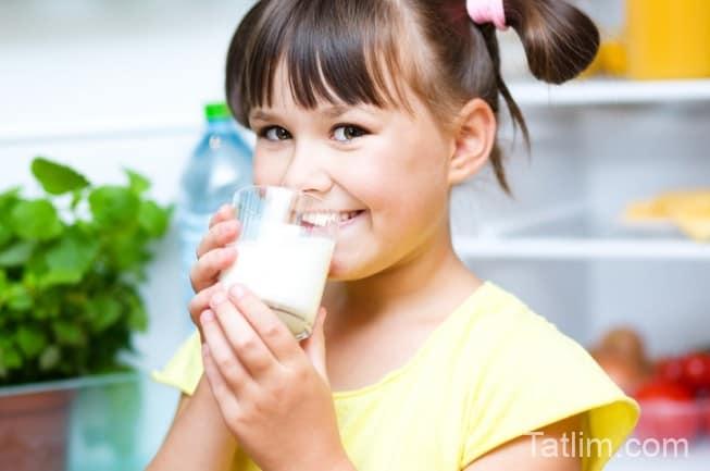 Çocuk Gelişiminde Sütün Faydaları